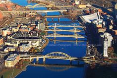 Bridges, Pittsburgh, Pennsylvania AND WHAT A VIEW WHEN U R IN YOUR CAR SEEING THIS :)