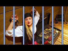 WE'RE TRAPPED! PIRATE TREASURE HUNT ESCAPE ROOM! - YouTube Abandoned Cities, Pirate Treasure, Escape Room, 5 Years, Pirates, Beach House, Youtube, Beach Homes, Youtube Movies