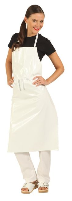 Pvc Apron, Rubber Gloves, White Apron, Sexy Latex, Blouse, Smocking, Female, Aprons, Chemistry