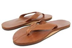 Rainbow Womens Single Layer Wide Strap Sandals #RainbowSandals