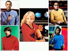 Big Bang meets Star Trek