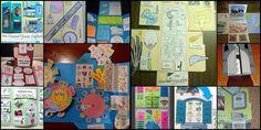 Από καιρό έχω αντιληφθεί την έννοια και τη χρησιμότητα ενός lapbook στη διαδικασία της μάθησης, διαβάζοντας κυρίως ξένες σελίδες. Αποφ... Quilts, School, Quilt Sets, Schools, Log Cabin Quilts, Lap Quilts, Quilt, Crochet