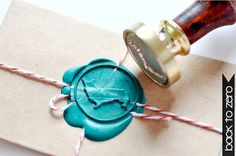Welsh Corgi Dog Lover Gold Plated Wax Seal Stamp x 1: Great for the letter writer with corgis