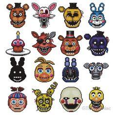 All animatronics