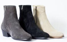Stockholm boots collection by Carl Antonio #mensfootwear #boots #carlantonio