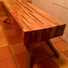 Tv table/ bench made of pallets