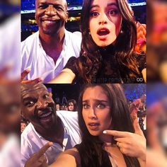 Lauren and Camila seem like really big fans of Terry Crews