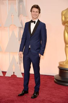 Pin for Later: See Every Star on This Year's Oscars Red Carpet! Ansel Elgort