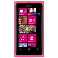 Nokia Lumia 800.  Hands down the best smartphone ever (still waiting for my Lumia 900).  And it's in PINK!!