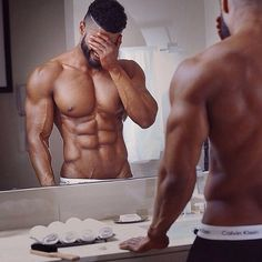 Obsessed with Hot Black Men - Page 20 Hot Black Guys, Black Men, Hot Guys, Fitness Goals, Fitness Motivation, Daily Motivation, Fitness Tips, Health Fitness, Thing 1