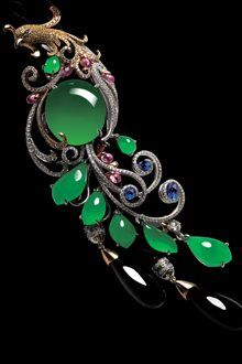 RP: Jade Phoenix  Gold Pin - Alessio