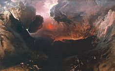 One of my favourite paintings by John Martin