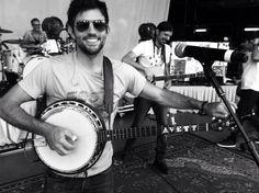 Scott Avett. My favorite banjo player. :) <---hecks yeah! lol