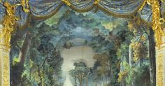 a-l-ancien-regime: T - a-l-ancien-regime: The stage set of the forest in the opera Le Roi et le fermier.The Queens Theater in Marie-Antoinettes Estate. In 1780 Le Roi et le fermier by Pierre-Alexandre Monsigny was performed by Marie-Antoinette and her troupe at the Queens Theatre in Versailles. The original stage sets the set of the forest and the rustic set have been preserved and are used in the performances of Le Roi et le fermier in Versailles --- #Theaterkompass #Theater #Theatre…