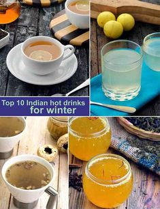 Top 10 Indian Hot Drinks for Winter, Cold Weather | TarlaDalal.com Healthy Indian Recipes, Healthy Foods To Eat, Healthy Tips, Tea For Colds, Indian Drinks, Mushroom Tea, Indian Soup, Caffeine Free Tea, Chai Recipe