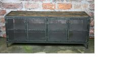 Media Console/Buffet/Credenza  Vintage Industrial by leecowen, $1300.00