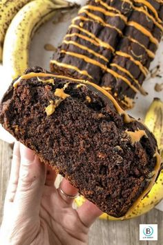 Protein Banana Bread, Peanut Butter Protein, Creamy Peanut Butter, Chocolate Peanut Butter, High Protein Recipes, Protein Foods, Healthy Foods, Unsweetened Applesauce, Unsweetened Cocoa