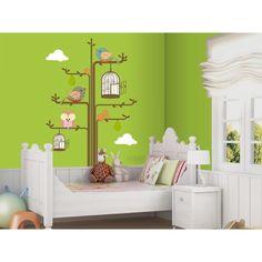 Árbol infantil en vinilo. Decoración para los más pequeños de la casa