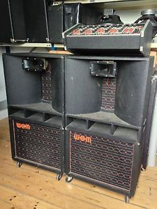 Wem heavy duty early 1970s - amp gear when big size meant big sound