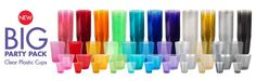 Color Cups at Party City!  Imagine all the cool combinations of sparkleballs you can make!