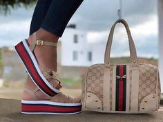 Hype Shoes, Gucci Shoes, Dope Fashion, Fashion Today, Fashion Portfolio, Pretty Shoes, Low Heels, Sexy Outfits, Free Money