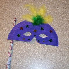 Paper Plate Mask Craft: How to Make a Mask using Paper Plates