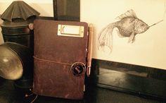 Midori Traveler's Notebook Hero of the British Art Resistance