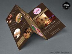 Brochure TriFold pour le salon de beauté fictif - Beauty's Salon