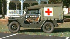 M-718 Army Jeep Ambulance. I got to drive one of these gems.