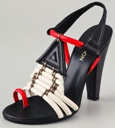 Thakoon Toe Ring high heel sandals, $995,shopbop.com