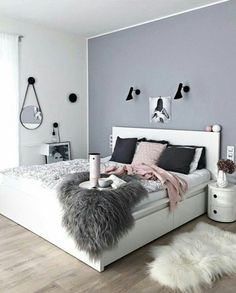 dream rooms for adults bedrooms * dream rooms . dream rooms for adults . dream rooms for women . dream rooms for couples . dream rooms for adults bedrooms . dream rooms for adults small spaces Home Bedroom, Bedroom Decor, Teen Bedroom Colors, Bedroom Themes, Bedroom Modern, Pink Gray Bedroom, Headboard Decor, Modern Closet, Modern Beds
