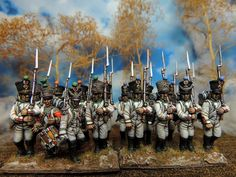 28mm Warlord Plastic French Line Infantry, painted by Francesco Thau to represent Italian 1st Regiment Infantry of the Line