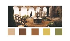 lotr color palette | From the Grey Havens, lord of the rings colour palettes