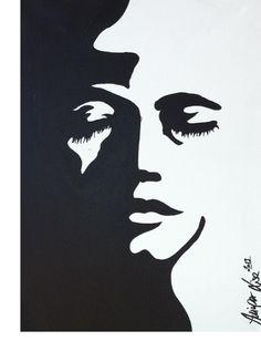 Lisa Maríe Auinger, sadness, acrylic on canvas, 2013;
