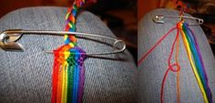 How to DIY Weave Rainbow Color Baubles Bracelet | iCreativeIdeas.com Follow Us on Facebook --> https://www.facebook.com/icreativeideas