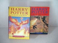 harry #potter #books x 2 : 1 x #hardback : 1 x paperback excellent condition,  View more on the LINK: http://www.zeppy.io/product/gb/2/361857408685/