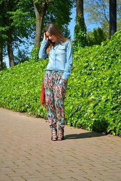 Pantalon etnico