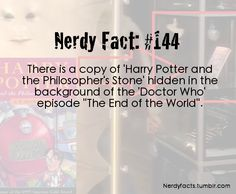 Doctor who nerdy facts - doctor-who Fan Art