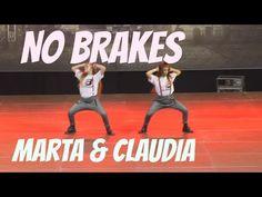 Girls dancing hip hop - Marta & Claudia in No Brakes |1º puesto Urbance 2015 | - YouTube