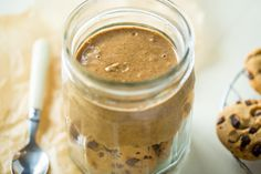Cookie Dough Protein Butter is a great treat for after a workout. Or any time!