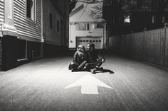 Check out Max + Sophie's lovely urban engagement shoot! Shaw Photography Co.