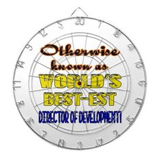 Otherwise known as world's bestest Director of dev Dartboard