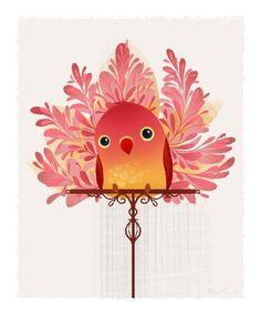 Ooh la la #Red #Bird #PutABirdOnIt