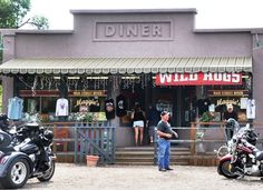 WILD Hogs - Maggie's Diner, Madrid, New Mexico - photo Steve Collins
