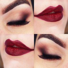 Makeup Classic Maquiagem Diva Clássica...very burlesque/Moulin rouge