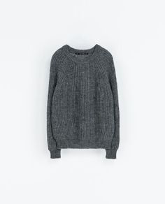 REVERSIBLE KNIT SWEATER from Zara