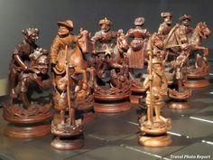wooden chess set 1550