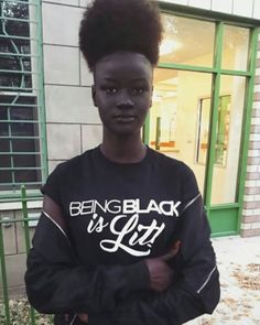 What a beautiful woman! #melanin #melaninonfleek