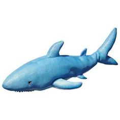 product image for Pool Petz Floating Shark in Blue/White