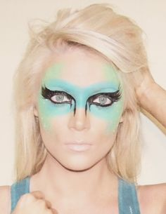 Crazy Makeup Model Lindsay Sneary